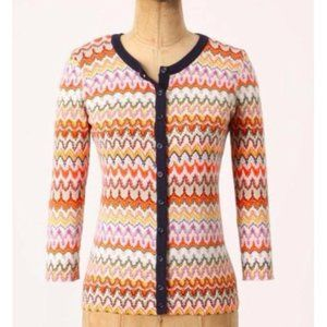 ANTHRO Tabitha Highlighted Frequencies Cardigan